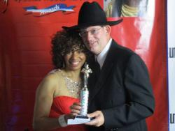 """William Bowman receives """"Special Needs Rock"""" Award"""