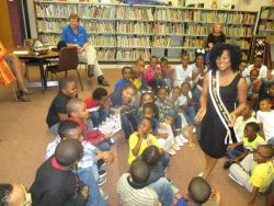 V.I.P. hosts Miss Alabama State University